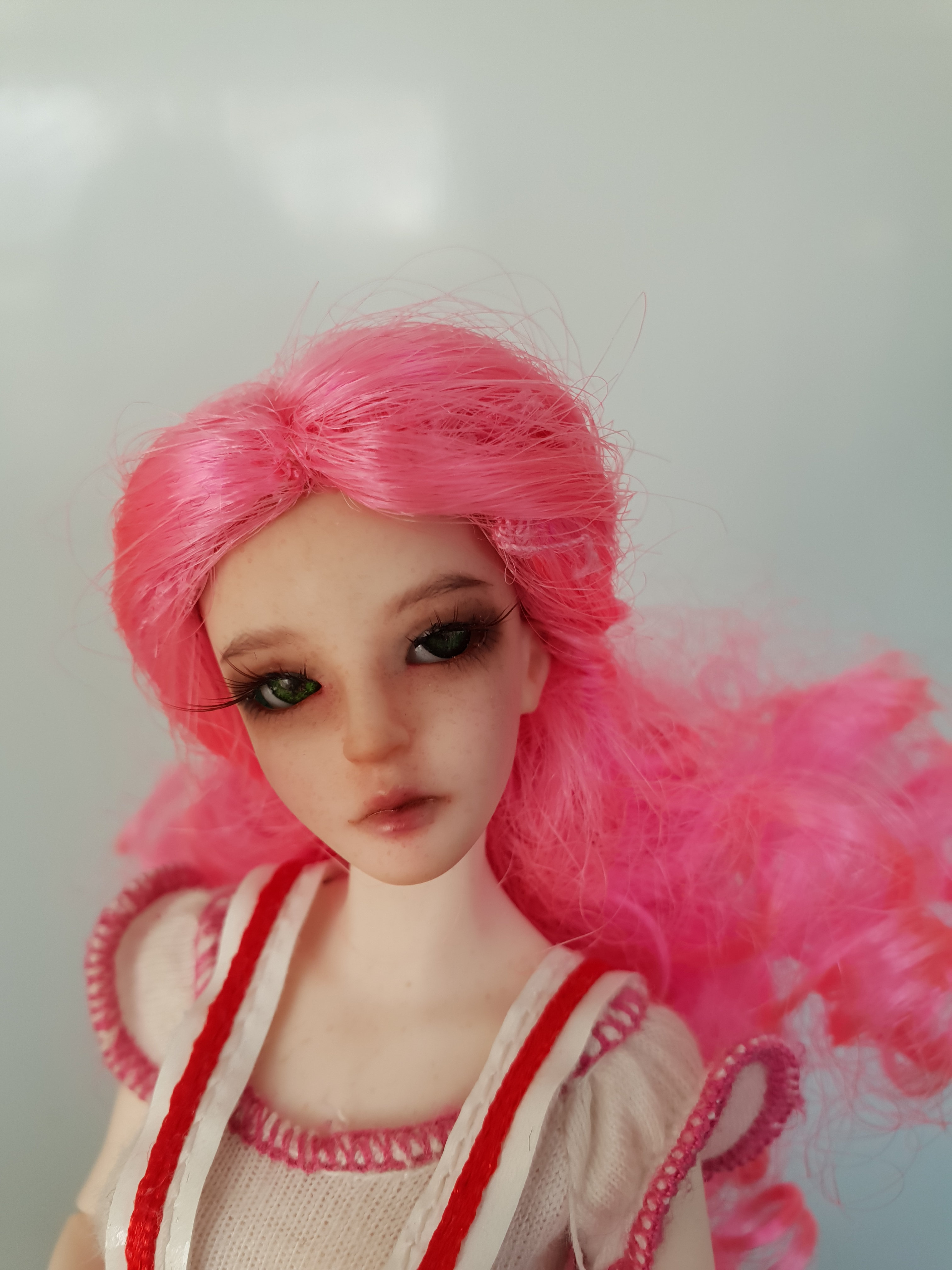 ball jointed doll face-up commission