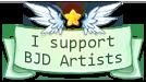 I support BJD artists