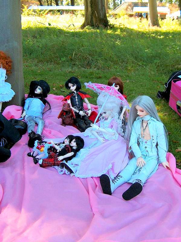 BJD meet at Castlefest 2007